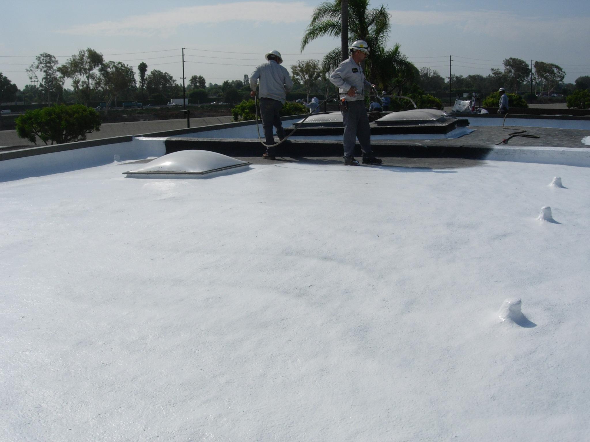 County Sanitation Long Beach Ca Weatherweld Roof System