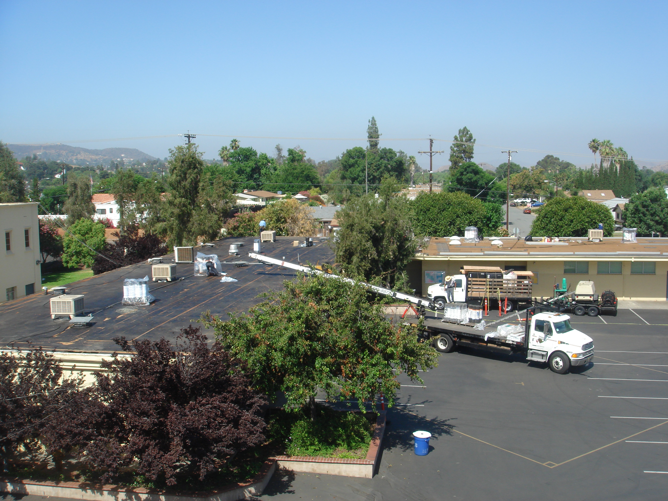 Emergency Roof Leak Service And Repair Commercial And